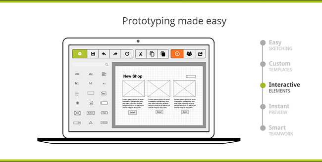 Prototyping is easy with Pidoco